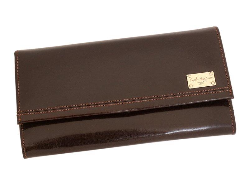 Paolo Bantacci Women Leather Wallet Black-4512