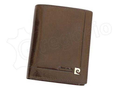 Pierre Cardin Man Leather Wallet Dark Brown-4932