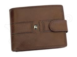 Pierre Cardin Man Leather Wallet Brown-6734