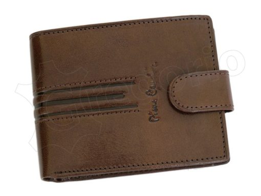 Pierre Cardin Man Leather Wallet Dark Brown-4795
