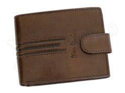 Pierre Cardin Man Leather Wallet Dark Black-4898