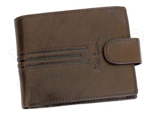 Pierre Cardin Man Leather Wallet Dark Brown-4892