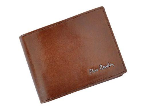 Pierre Cardin Man Leather Wallet Brown-4772