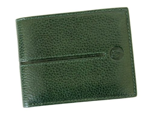 Gai Mattiolo Man Leather Wallet Green-6446