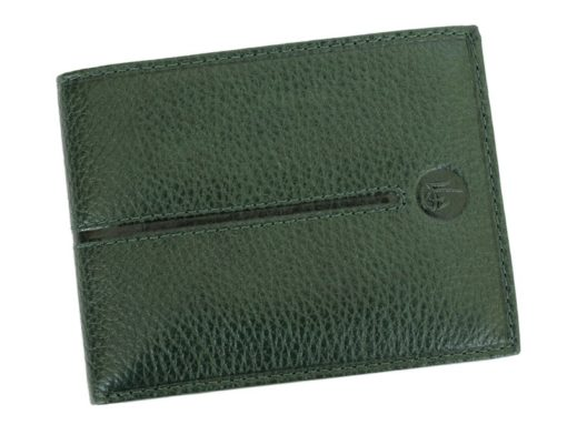 Gai Mattiolo Man Leather Wallet Blue-6505