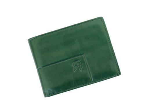 Gai Mattiolo Man Leather Wallet Green-6218