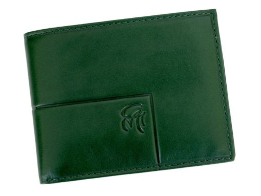Gai Mattiolo Man Leather Wallet with coin pocket Brown-6387