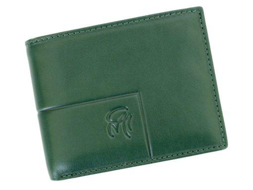 Gai Mattiolo Man Leather Wallet Small size Green-6290