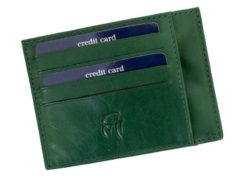 Gai Mattiolo Credit Card Holder Brown-4281