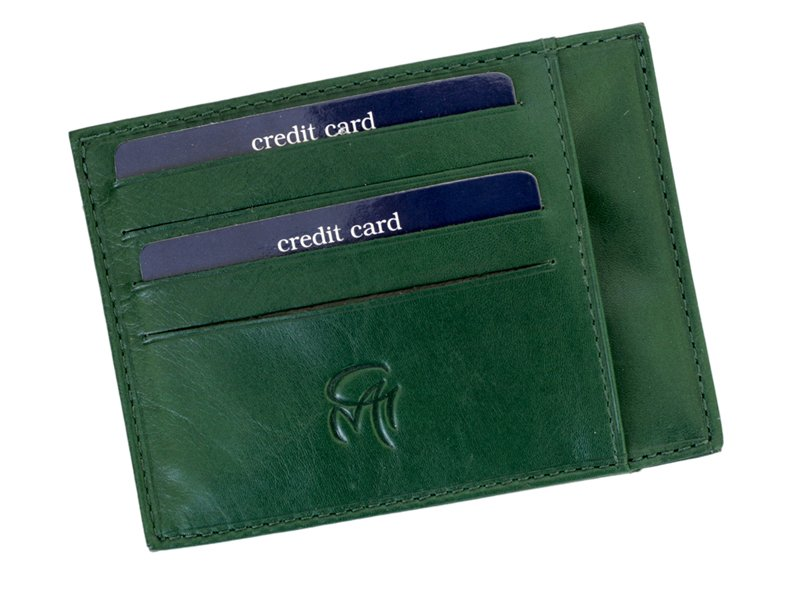 Gai Mattiolo Credit Card Holder Brown-4281