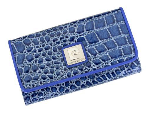 Pierre Cardin Women Leather Purse Blue-6079