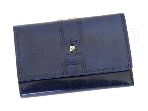 Pierre Cardin Women Leather Purse Blue-6666