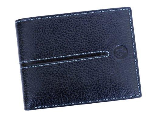 Gai Mattiolo Man Leather Wallet Blue-6513