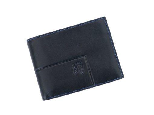 Gai Mattiolo Man Leather Wallet Black-6266
