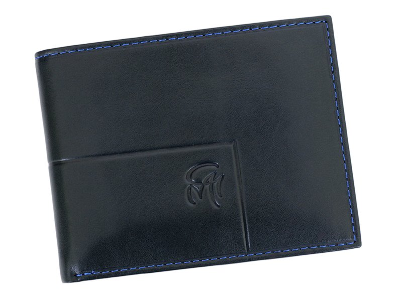 Gai Mattiolo Man Leather Wallet with coin pocket Green-6376