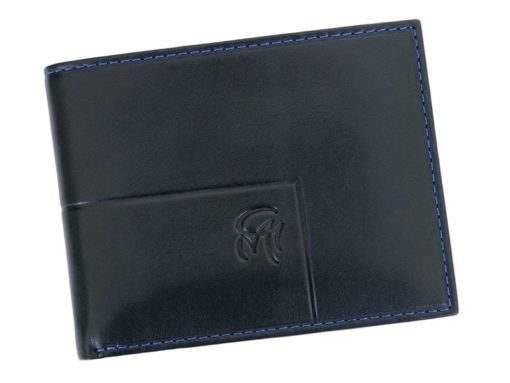 Gai Mattiolo Man Leather Wallet with coin pocket Brown-6390