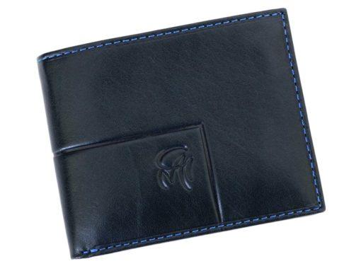 Gai Mattiolo Man Leather Wallet Small size Green-6284