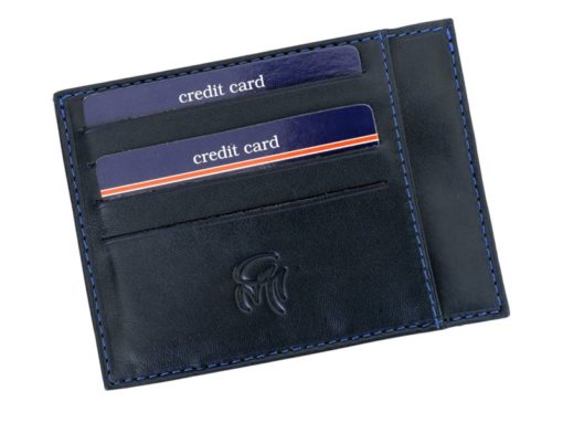 Gai Mattiolo Credit Card Holder Black-4280
