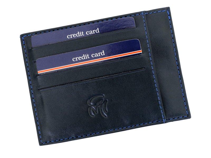 Gai Mattiolo Credit Card Holder Black-4280
