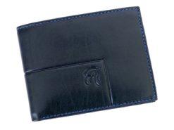 Gai Mattiolo Man Leather Wallet Blue-6311