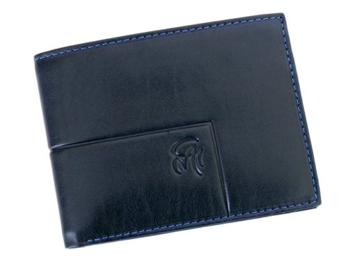 Gai Mattiolo Man Leather Wallet Black-6350