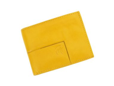 Gai Mattiolo Man Leather Wallet Yellow-6202