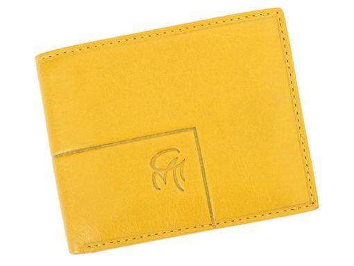 Gai Mattiolo Man Leather Wallet Small size Green-6295