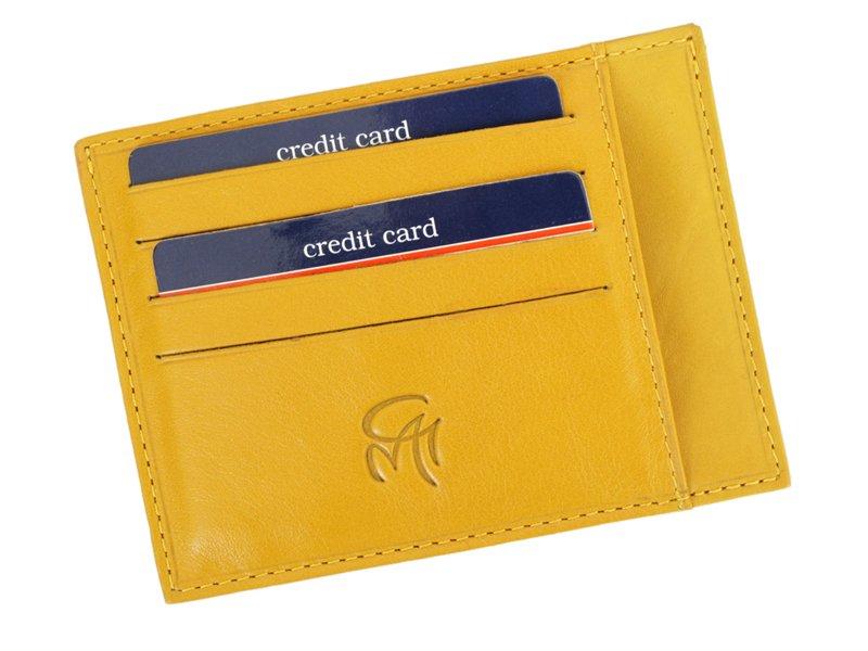 Gai Mattiolo Credit Card Holder Black-4276