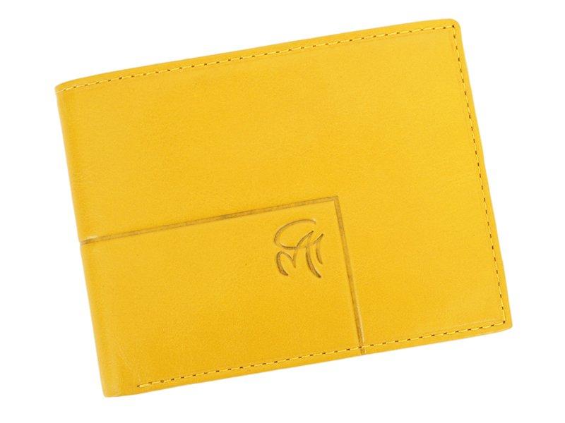 Gai Mattiolo Man Leather Wallet Yellow-6305
