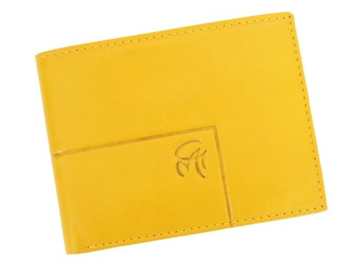 Gai Mattiolo Man Leather Wallet Blue-6318