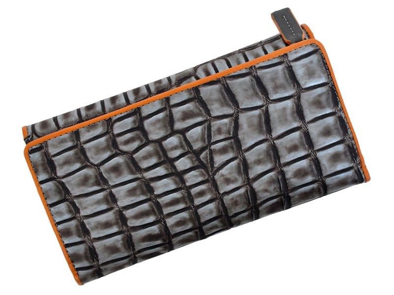 Harvey Miller Polo Club Women Leather Wallet Brwon-5333