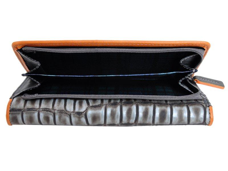 Harvey Miller Polo Club Women Leather Wallet Carmel-5324
