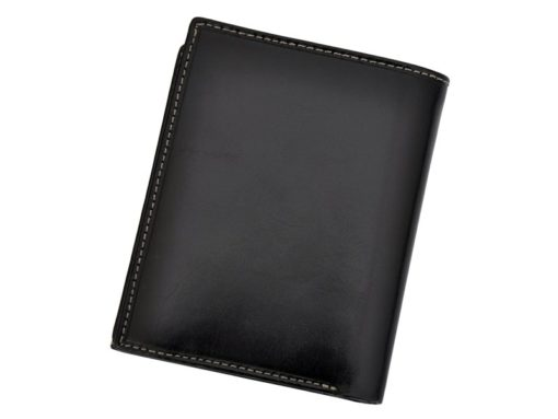 Leather Wallet Black Valentini Gino-4336