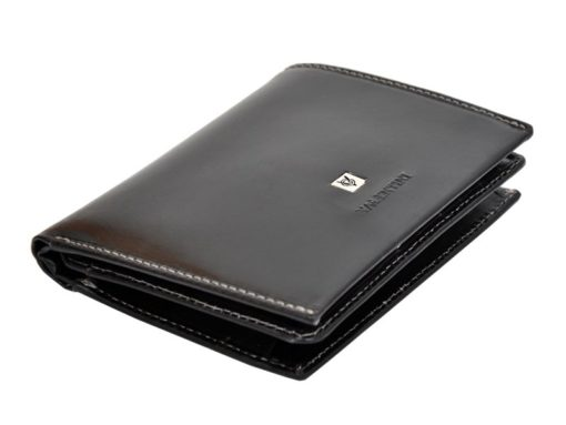 Leather Wallet Black Valentini Gino-4339