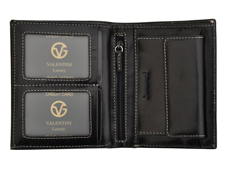 Leather Wallet Brown Valentini Gino-4358