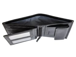 Leather Wallet Black Valentini Gino-4342