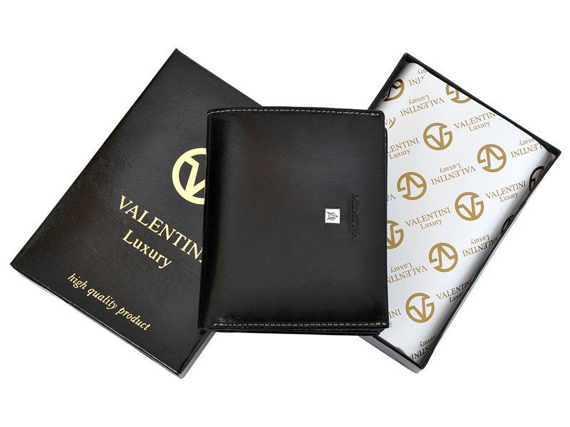 Leather Wallet Black Valentini Gino-4337