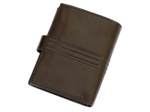 Pierre Cardin Man Leather Wallet Dark Brown-4920