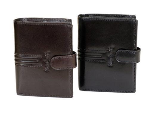 Pierre Cardin Man Leather Wallet Dark Brown-4916