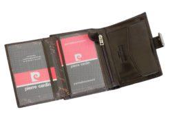 Pierre Cardin Man Leather Wallet Dark Brown-4915
