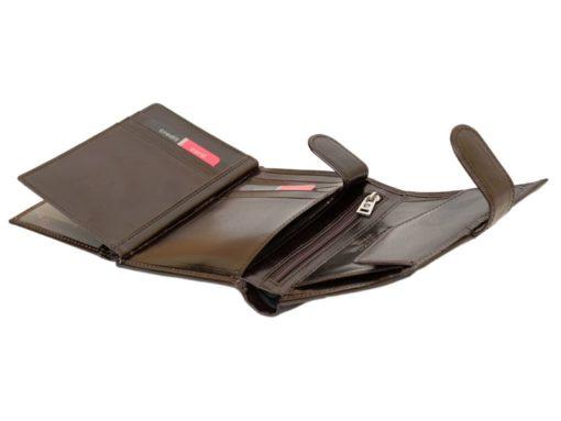 Pierre Cardin Man Leather Wallet Dark Brown-4925