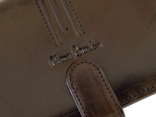 Pierre Cardin Man Leather Wallet Dark Brown-4914