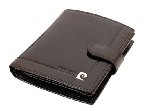 Pierre Cardin Man Leather Wallet Dark Brown-6715