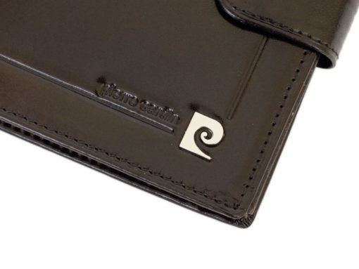 Pierre Cardin Man Leather Wallet Dark Brown-6719