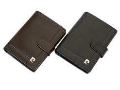 Pierre Cardin Man Leather Wallet Dark Brown-6723