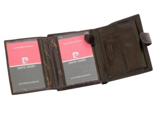 Pierre Cardin Man Leather Wallet Black-4958