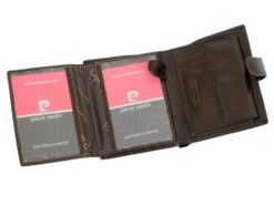 Pierre Cardin Man Leather Wallet Dark Brown-6718