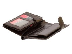 Pierre Cardin Man Leather Wallet Dark Brown-6717