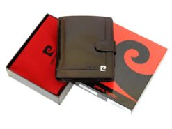Pierre Cardin Man Leather Wallet Dark Brown-6720