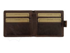 Wild Things Only Unique Leather Wallet Black-4361